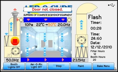 Customized Control - Embedded systems screen design