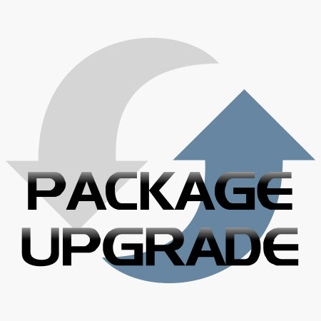 Package upgrade product icon for shop