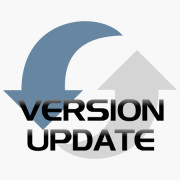 Version updateproduct icon for shop