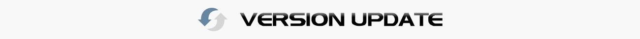 Version update product header image